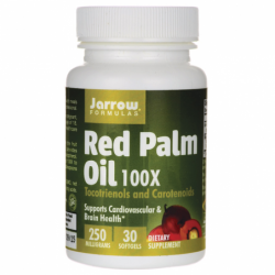 Red Palm Oil 100X, 250 mg 30 Sgels