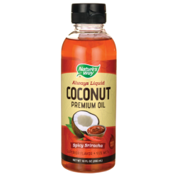 Coconut Premium Oil  Spicy Sriracha, 10 fl oz (296 mL) Liquid