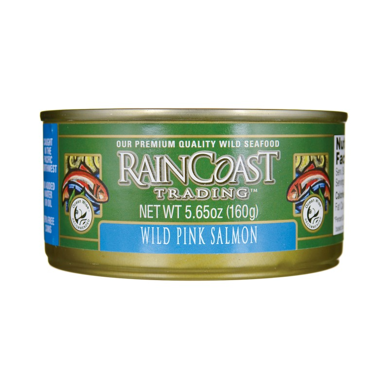 Wild Pink Salmon, 5.65 oz Can
