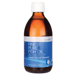 Finest Pure Fish Oil with Plant Sterols, 10.1 fl oz (300 mL) Liquid
