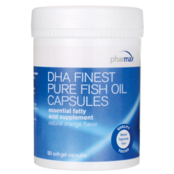 DHA Finest Pure Fish Oil, 90 Sgels