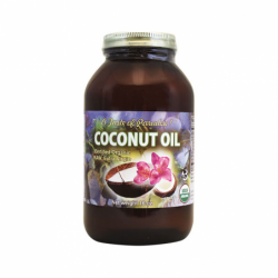 Coconut Oil, 16 oz Solid Oil