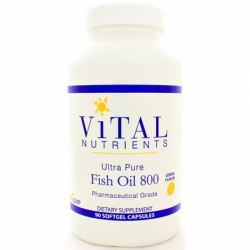 Ultra Pure Fish Oil 800, 90 Sgels