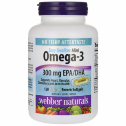 Omega3 Easy Swallow Mini, 150 Sgels