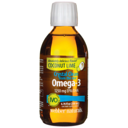 Crystal Clean from the Sea Omega3  Coconut Lime, 6.76 fl oz (200 mL) Liquid