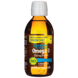 Crystal Clean from the Sea Omega3  Lemon Cake, 6.76 fl oz (200 mL) Liquid