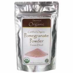 Certified Organic Pomegranate Powder, 6 oz (170 grams) Pwdr