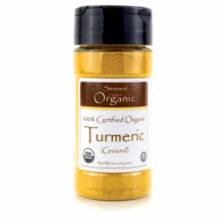 100 Certified Organic Turmeric Ground, 1.8 oz (51 grams) Pwdr