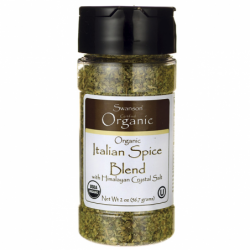 Organic Italian Spice Blend, 2 oz (56.7 grams) Flakes