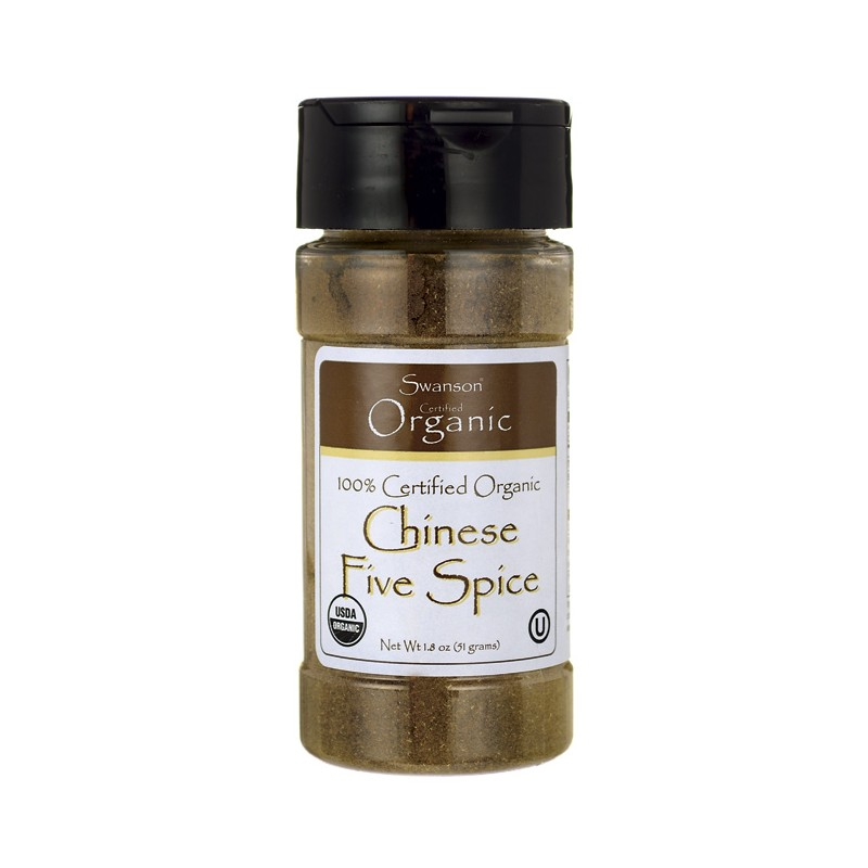 100 Cert Organic Chinese Five Spice, 1.8 oz (51 grams) Pwdr