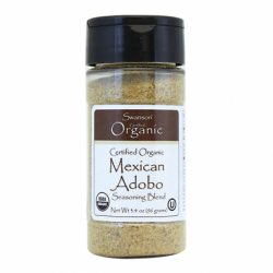 Certified Organic Mexican Adobo, 3.4 oz (96 grams) Pwdr