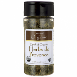Certified Organic Herbs de Provence, 0.7 oz (19.8 grams) Flakes