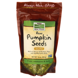 Raw Pumpkin Seeds  Unsalted, 16 oz (454 grams) Pkg