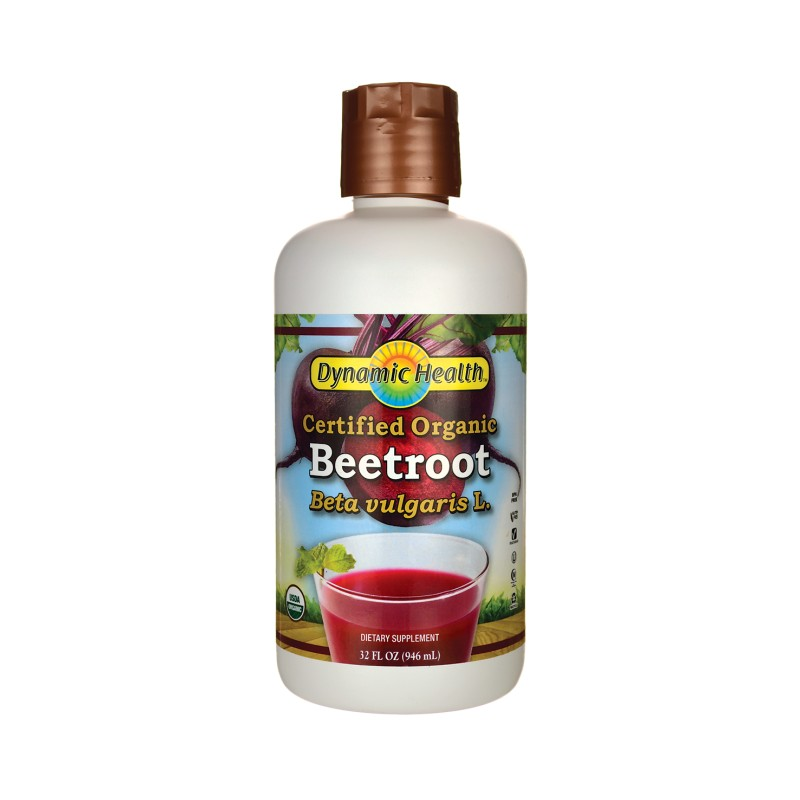 Certified Organic Beetroot Juice, 32 fl oz (946 mL) Liquid