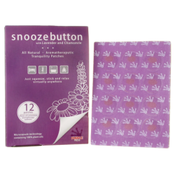 Snooze Button with Lavender and Chamomile, 12 Ct