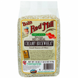 Creamy Buckwheat Hot Cereal, 18 oz (510 grams) Pkg