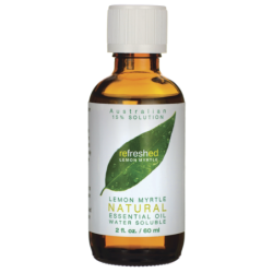 Lemon Myrtle Natural Essential Oil, 2 fl oz (60 mL) Liquid