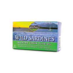Wild Sardines in Extra Virgin Olive Oil, 1 Can