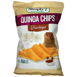 Quinoa Chips  Barbeque, 3.5 oz (99 grams) Pkg