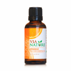 100 Pure Essential Oil  Orange, 1 fl oz (30 mL) Liquid