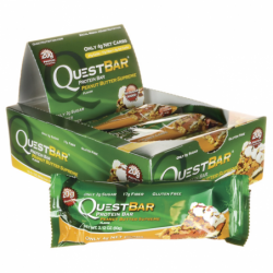 QuestBar Protein Bar  Peanut Butter Supreme, 12/2.1 oz (60 grams) Bar(s)