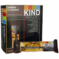 Kind Fruit and Nut Bars Almond and Coconut, 12 Bar(s)