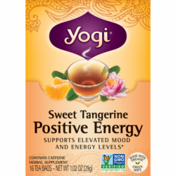 Sweet Tangerine Positive Energy Tea, 16 Bag(s)