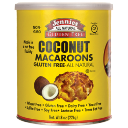 Macaroons  Coconut, 8 oz (226 grams) Can