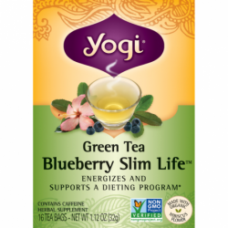 Green Tea Blueberry Slim Life, 16 Bag(s)