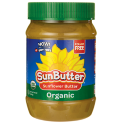 SunButter Sunflower Spread  Organic, 16 oz (454 grams) Jar