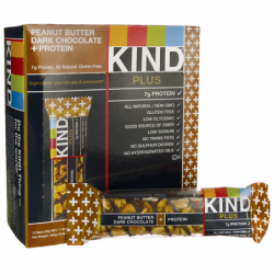 Kind Plus Bars Peanut Butter Dark Chocolate  Protein, 12 Bar(s)