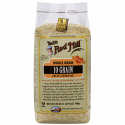 10 Grain Hot Cereal, 25 oz (708 grams) Pkg