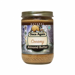 Almond Butter Creamy, 16 oz Jar