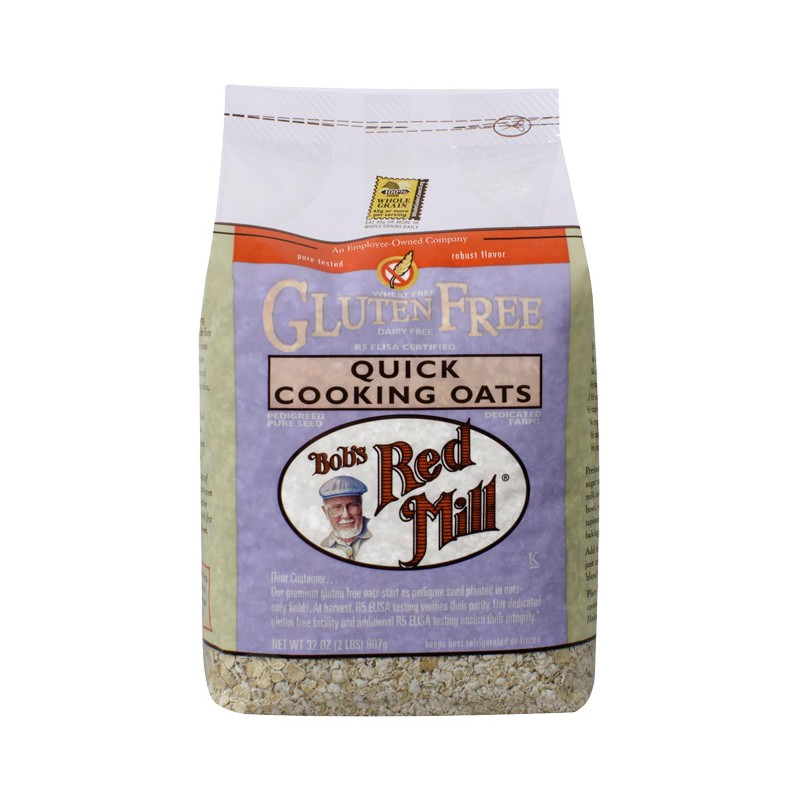 Gluten Free Quick Cooking Oats, 32 oz (907 grams) Pkg