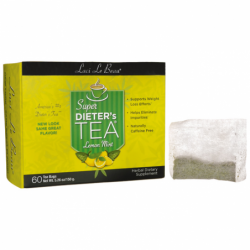 Super Dieters Tea Lemon Mint, 60 Bag(s)