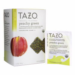 Green Tea  Organic Peachy Green, 20 Bag(s)