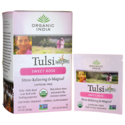 Sweet Rose Tulsi Tea, 18 Bag(s)