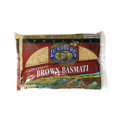 California Brown Basmati Rice, 2 lbs Pkg