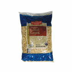 Organic Puffed Kamut Cereal, 6 oz Pkg
