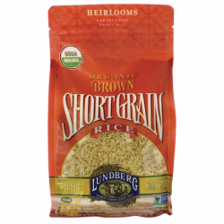 Organic Short Grain Brown Rice, 2 lb Bag(s)
