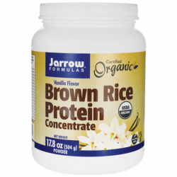 Brown Rice Protein Concentrate Vanilla, 17.8 oz (504 grams) Pwdr