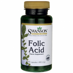 Folic Acid, 800 mcg 250 Caps