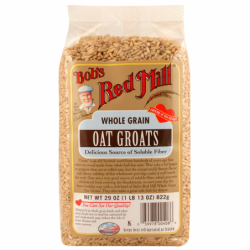 Whole Grain Oat Groats, 29 oz (822 grams) Pkg