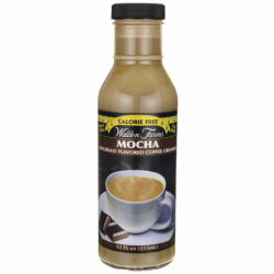 Calorie Free Mocha Coffee Creamer, 12 fl oz (355 ml) Liquid
