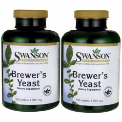 Brewers Yeast, 500 mg 1000...