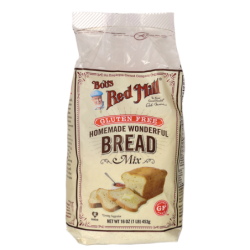 Homemade Wonderful Gluten Free Bread Mix, 16 oz (453 grams) Pkg