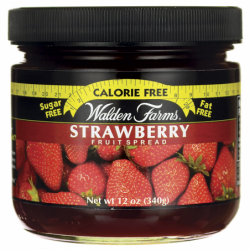 Calorie Free Fruit Spread  Strawberry, 12 oz Jar