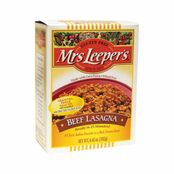 Beef Lasagna, 6.42 oz Box