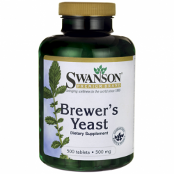 Brewers Yeast, 500 mg 500 Tabs
