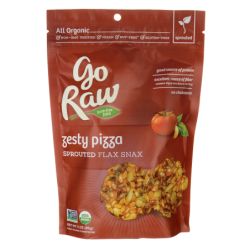 Sprouted Flax Snax  Zesty Pizza, 3 oz (85 grams) Bag(s)